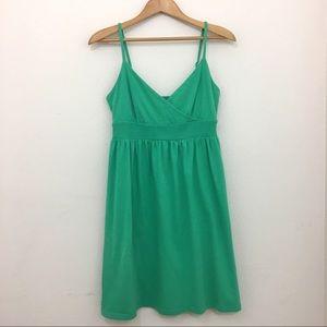 Old Navy sundress cotton green size medium